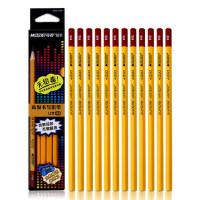 马可 HB铅笔 学生书写铅笔 无铅毒送卷笔刀4200-12CB 36支装