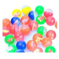 弹力球橡胶创意解压迷你小玩具批发卡通可爱好玩的益智弹性小球 平均混发 均码