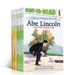 英文原版 美国著名人物的童年系列12册 Ready to Read Childhood of Famous Ameri