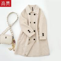 【限时1件3折到手价:219元】高梵新品时尚毛呢大衣女