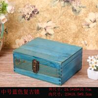 木�|收�{盒�фi箱子秘密小木箱木盒�凸抛烂嬲�理�Υ婧� 中��{色