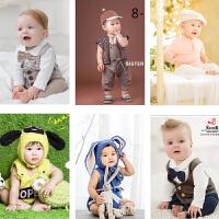 201805304655459新款儿童摄影服装 影楼男女百天周岁宝宝写真拍照照相服饰