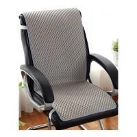 定做夏天连体坐垫凉垫 夏季学生电脑椅办公室靠背靠垫一体椅子垫、