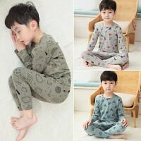 男童秋衣秋裤全套装棉儿童中大童保暖内衣家居服