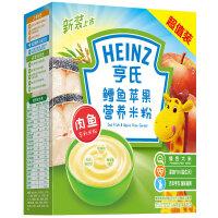 【当当自营】亨氏鳕鱼苹果营养米粉超值装400g