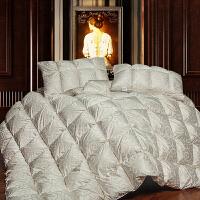 【包邮】伊迪梦家纺 全棉精品95羽绒被 纯棉面料优质鸭绒毛填充 蓬松加厚保暖冬被单人双人床PV128