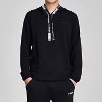 adidas阿迪达斯NEO男装2019春季新款运动服休闲连帽卫衣DW8142