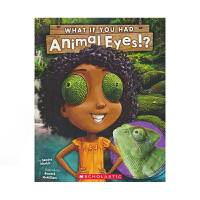 【首页抢券300-100】Scholastic What If You Had Animal Eyes 如果你有动物的眼