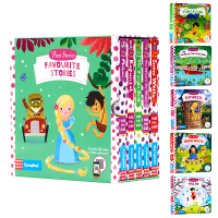 正版 First Stories busy系列5册 童话篇 Snow White 英文原版 白雪公主 Mulan 花木兰