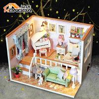 过家家娃娃屋迷你仿真儿童玩具小女孩生日礼物