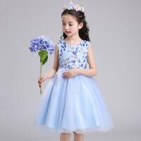 女童连衣裙夏装2019新款公主裙儿童婚纱礼服六一幼儿园演出服