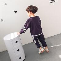 童装男童春装套装春秋2018新款韩版两件套儿童运动纯棉休闲潮衣