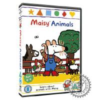 盒装DVD动画碟 maisy mouse 小鼠波波 小咪咪 英文动画