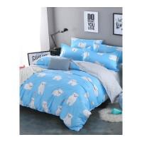 大学生床上三件套 家用简约四件套卡通公主单人宿舍床单被套开学季床上用品