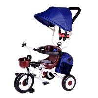 ar儿童折叠三轮车手推车宝宝1-3-5岁儿童自行车