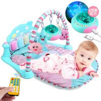 早教益智玩具新生婴儿健身架 0-1岁宝宝健身架脚踏钢琴