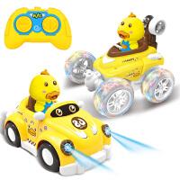 遥控汽车模充电动儿童玩具车玩具翻滚特技车翻斗车遥控车