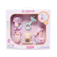 新生婴儿玩具婴儿早教玩具0-1岁手摇铃安抚软牙宝宝止哭磨牙棒陪伴玩具礼物