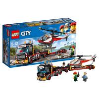 LEGO乐高城市系列重型直升机运输车60183 2018 1月新款