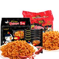 韩国进口方便面三养超辣原味+双倍辣火鸡面140g*10干拌辣鸡面包邮