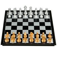 磁性国际象棋套装折叠棋盘初学者儿童大号送西洋跳棋