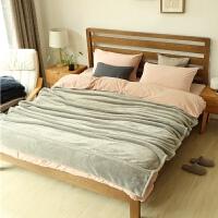 绒毯床单加厚法莱绒毛毯子法兰绒2米床冬天加厚珊瑚绒双面
