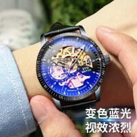 机械表手表男学生全自动虫洞概念男生镂空男式手表