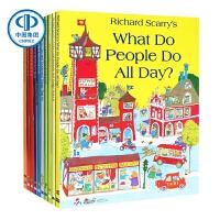 【英文原版】斯凯瑞图画书套装 (含《忙忙碌碌镇》等,共10册)Richard Scarry Collection (10 books) ,