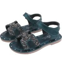 儿童凉鞋女孩夏季时尚露趾中大童女童凉鞋