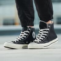 CONVERSE匡威男女帆布鞋2018新款三星标1970s高帮休闲鞋162050C