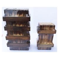中国古典益智力玩具小鲁班盒 大魔盒 单三开密室逃脱学生礼物