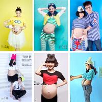 新款影楼摄影孕妇写真个性时尚拍照孕妇装孕味服拍摄服装