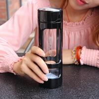 创意韩版便携式玻璃杯带茶漏防摔男女学生简约个性喝水泡茶随手杯