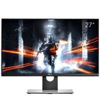 戴尔(DELL)S2716DG 27英寸2K分辨率G-Sync游戏电竞显示器 2K超高清,G-Sync+144Hz刷新