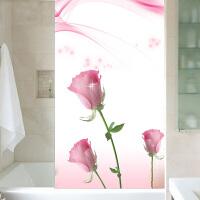 厕所门贴纸 窗户玻璃贴纸浴室移门防透防窥贴膜防走光衣柜家用贴纸