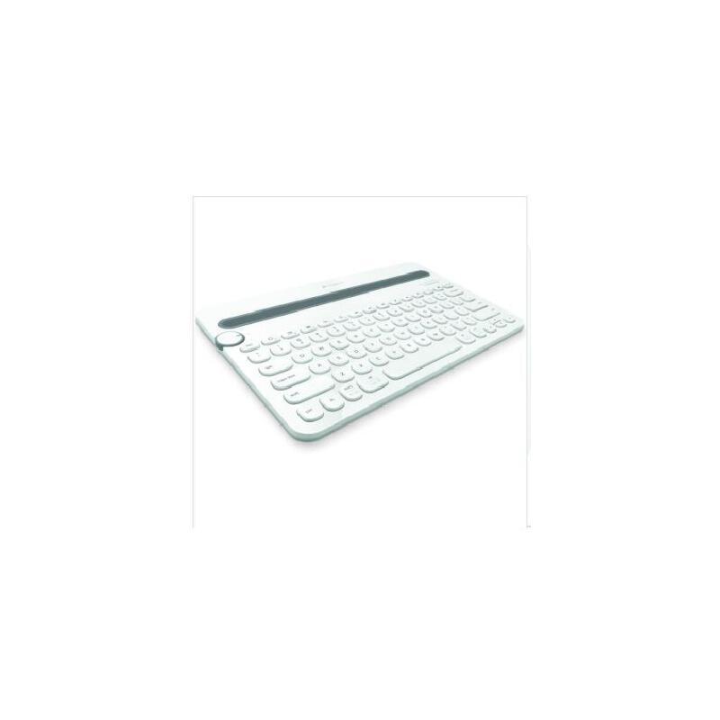 罗技(Logitech)K480 多功能蓝牙键盘 颜色可选 全新盒装正品行货(直销) 标配送二合一数据线