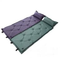 户外帐篷自动充气垫加宽加厚单人可拼接双人防潮垫午睡气垫