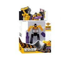儿童仿真模型星变战神六合体玩具变形工程车合金板大力金刚套装男孩玩具礼物