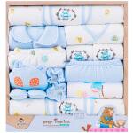 纯棉婴儿衣服新生儿礼盒套装秋冬夏季初生刚出生满月男女宝宝用品
