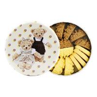 珍妮曲奇小熊饼干 经典四味160g 零食无防腐剂新鲜糕点休闲小吃