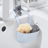 厨房水槽收纳沥水挂袋家居多功能两用水龙头杂物沥水置物篮