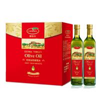 西班牙原装进口 橄倍尔特级初榨橄榄油750ml*2尊享礼盒 食用油 酸度≤0.4