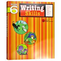 Flash Kids写作技巧6年级 英文原版 Writing Skills Grade6 写作技能 美国小学英语教辅Ha