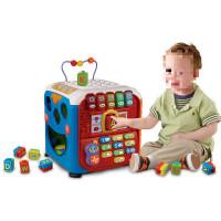 儿童玩具 立方积木游戏玩具启蒙学习宝宝儿童早教益智礼盒装生日礼物 智立方