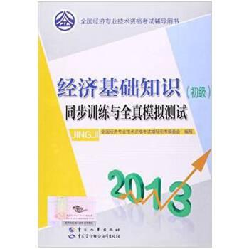 【旧书二手书8成新】2013全国经济专业技术资格考试辅导用书:经济基础知识初级同步训练与全真模拟测 旧书,6-9成新,无光盘,笔记或多或少,不影响使用。辉煌正版二手书。