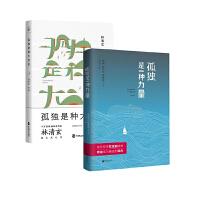 孤独是一种力量+孤独是种大自在(套装共2册)林清玄、简�o,骆以军等文学随笔作品集