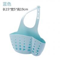 厨房置物架水龙头沥水架可调节按扣塑料收纳架水槽收纳挂袋沥水篮