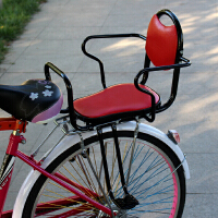 电动自行车儿童座椅后置小孩学生宝宝安全后坐加厚加宽棉雨棚防风