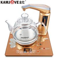 金灶(KAMJOVE) 全智能自动上水电热水壶 玻璃烧水壶 保温泡茶电磁炉电茶壶 G7 单炉(26cm*22.5cm)