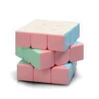 马卡龙色系列魔方三阶金字塔初学者速拧比赛专用竞速益智解压玩具